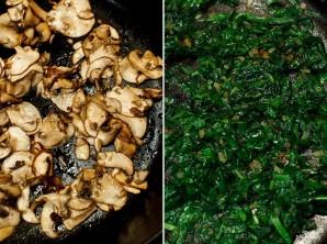 Яичница со шпинатом и грибами в духовке - фото шаг 2