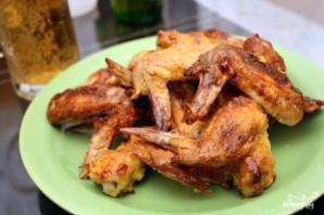 Крылышки куриные в медово-горчичном соусе - фото шаг 4