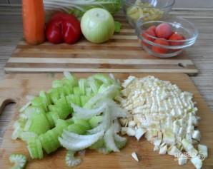 Сельдереевый суп для похудения - фото шаг 1