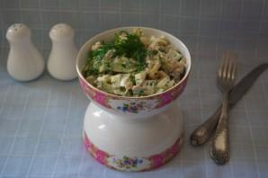 Салат с черносливом и огурцом - фото шаг 6