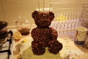 Торт с мишками Тедди - фото шаг 5