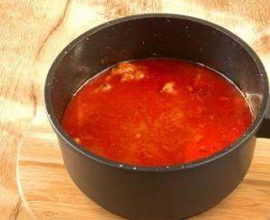 Свинина в томатном соусе - фото шаг 4