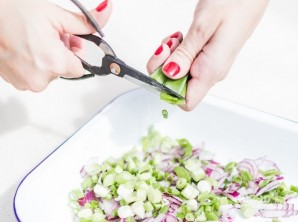 Севиче с тунцом и арбузом - фото шаг 3