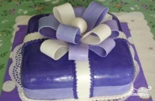 """Торт """"Подарок"""" - фото шаг 19"""