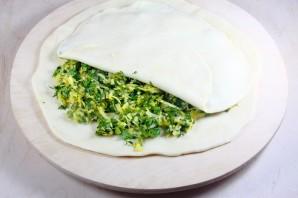 Хачапури с зеленью - фото шаг 6