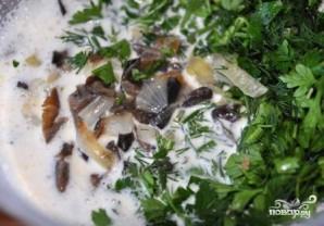 Грибная запеканка в духовке - фото шаг 7
