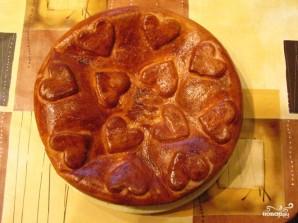 Пирог с капустой и яйцом - фото шаг 12