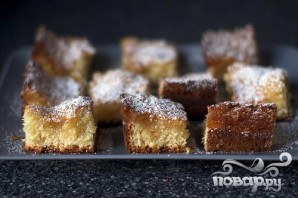 Дрожжевой пирог со сливочной начинкой - фото шаг 6