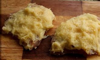 Куриные отбивные в картофельном кляре - фото шаг 8