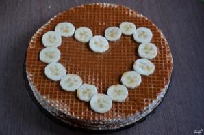 Торт из вафель - фото шаг 4