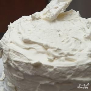 Кокосовый пирог с кремом - фото шаг 14