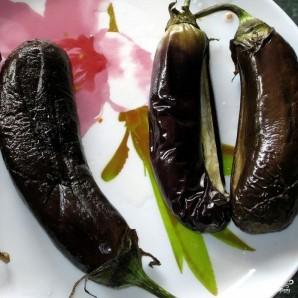 Баклажаны сациви с грецкими орехами - фото шаг 2
