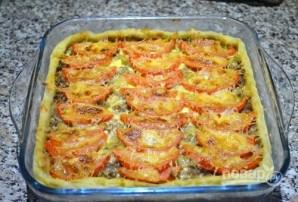 Открытый мясной пирог с картофельным тестом - фото шаг 17