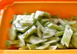 Огурцы в чесночном соусе по-китайски - фото шаг 1