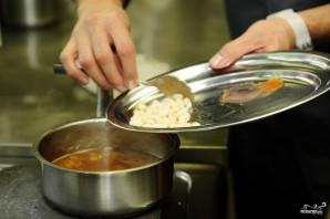 Суп из лисичек с фасолью - фото шаг 12