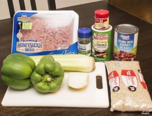 Рис с индейкой - фото шаг 1