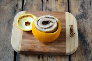 Цинамоновые роллы в апельсиновой корке - фото шаг 5