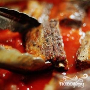 Рёбрышки в томатном соусе - фото шаг 11