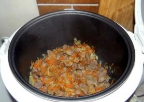 Подлива из свинины с морковкой - фото шаг 3