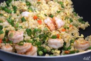 Рис с жареными креветками по-китайски - фото шаг 14