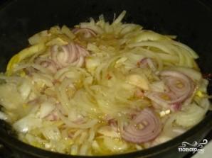 Гусь в духовке с гречкой - фото шаг 2