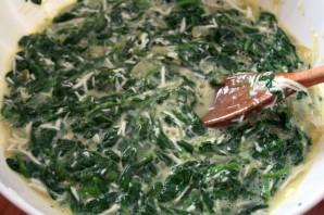 Омлет со шпинатом и сыром - фото шаг 4