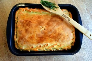 Грузинский пирог с тархуном и сыром - фото шаг 6