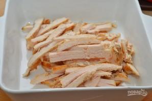 Салат с помидорами и курицей - фото шаг 1