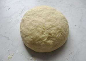 Пирожки с черникой из дрожжевого теста - фото шаг 4