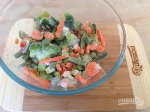 Печень индейки с овощами - фото шаг 1
