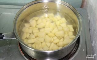 Cалат картофельный с яйцом - фото шаг 1