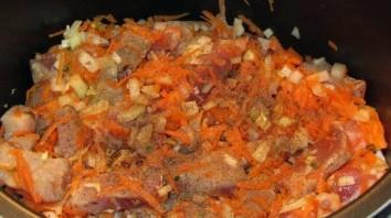 Подливка из свинины в мультиварке - фото шаг 2