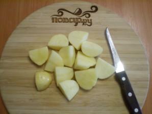 Картофель под сырным соусом - фото шаг 6