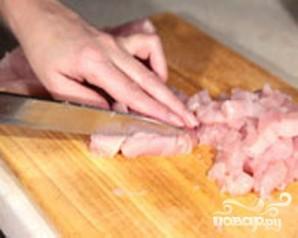 Запеканка картофельная с мясом и моцареллой - фото шаг 1