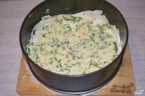 Пирог из лаваша с сыром в духовке - фото шаг 7