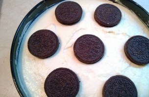Чизкейк без выпечки из печенья - фото шаг 8