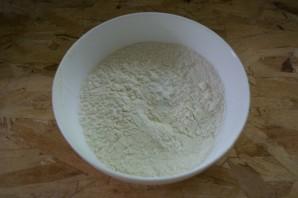 Хычины с сыром и зеленью - фото шаг 1