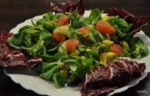 Салат с морскими гребешками - фото шаг 8