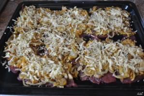Мясо по-французски со свининой и грибами - фото шаг 6