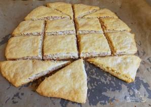 Ореховые слойки на ряженке - фото шаг 9