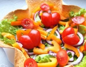 Овощной салат с бальзамическим уксусом - фото шаг 2