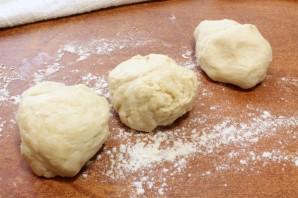 Осетинский пирог с капустой - фото шаг 7