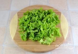 Салат из огурцов и капусты - фото шаг 3
