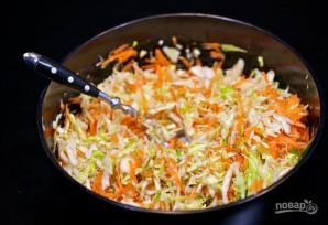 Салат со свежей капустой - фото шаг 4