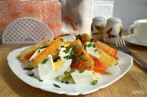 Салат с гренками и сыром - фото шаг 9