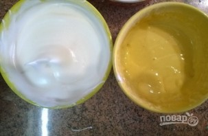 Лимонное пирожное с белковым кремом - фото шаг 2