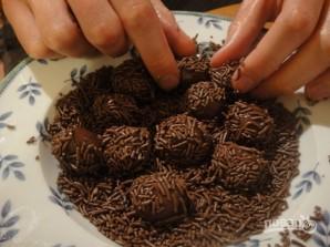 Шоколадные шарики - фото шаг 4
