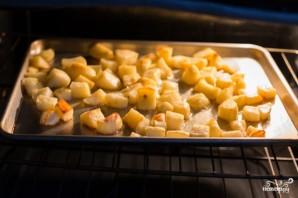 Запеченный картофель кусочками - фото шаг 4