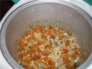 Рис с тушенкой в мультиварке - фото шаг 3