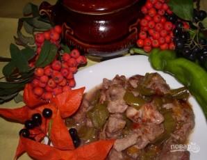 Свинина со сливой в духовке - фото шаг 4